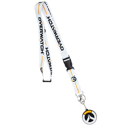 Overwatch White Lanyard