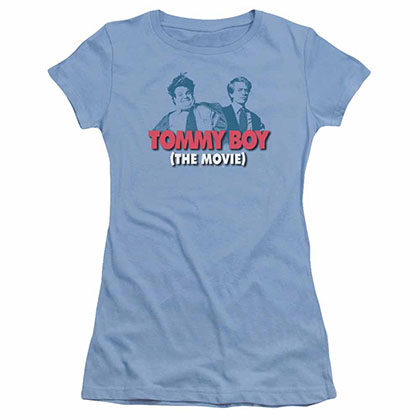 Tommy Boy Logo Blue Juniors T-Shirt