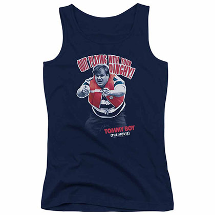 Tommy Boy Dinghy Blue Juniors Tank Top