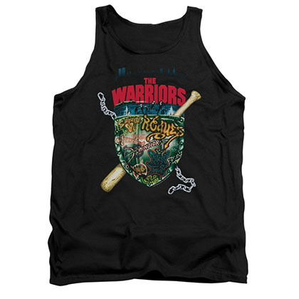 The Warriors Shield Black Tank Top