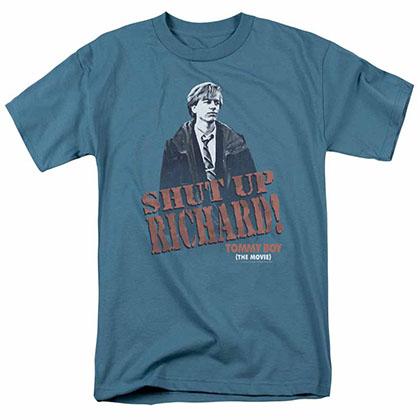 Tommy Boy Shut Up Richard Grey T-Shirt