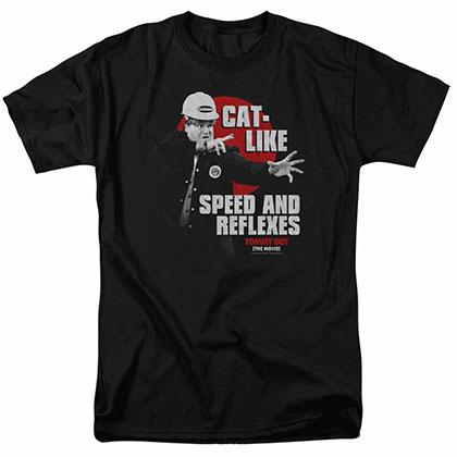 Tommy Boy Cat Like Black T-Shirt