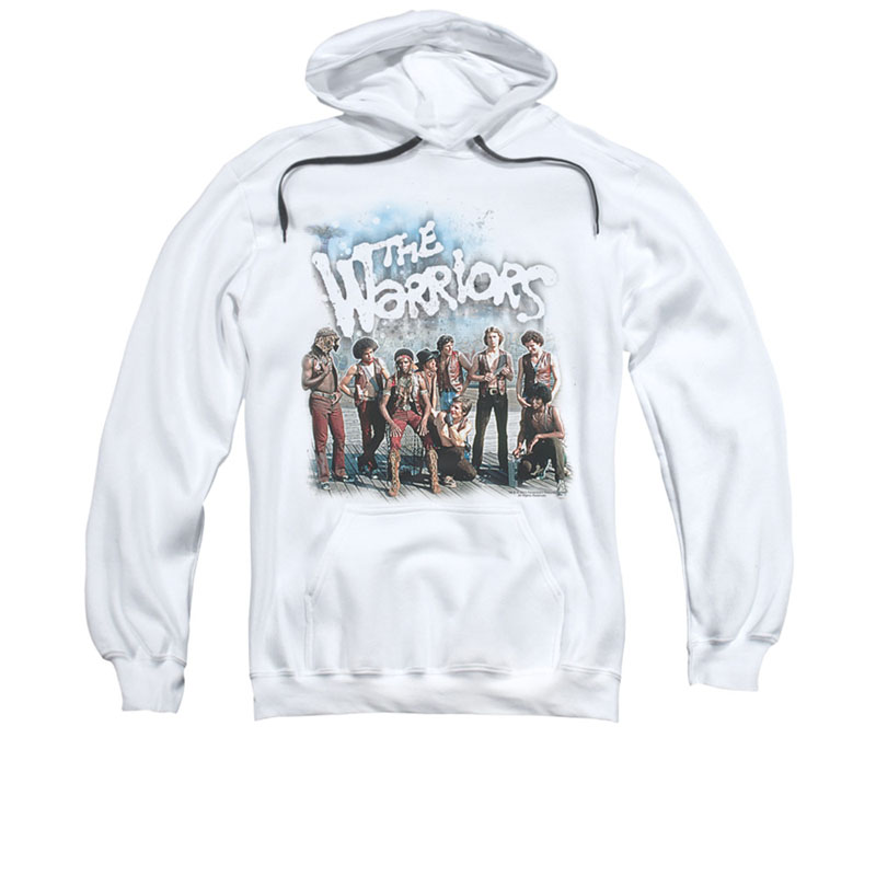 The Warriors Amusement White Pullover Hoodie