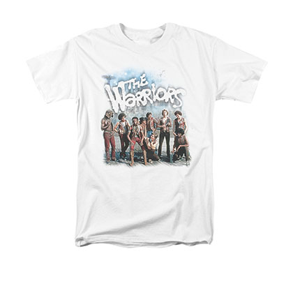 The Warriors Amusement White T-Shirt