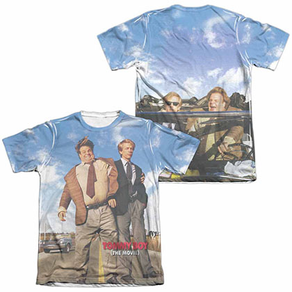 Tommy Boy Poster White 2-Sided Sublimation T-Shirt