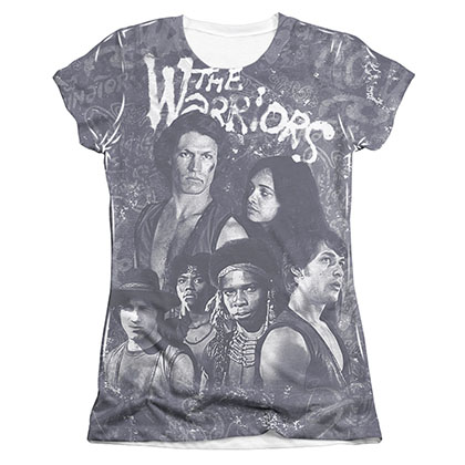 The Warriors Moody Streets Sublimation Juniors T-Shirt