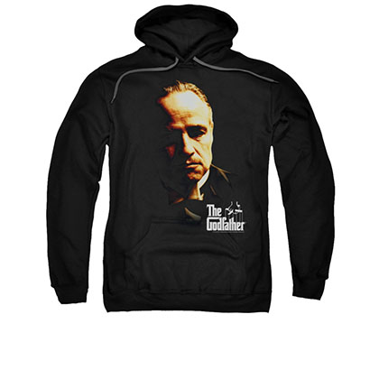 The Godfather Don Vito Black Pullover Hoodie