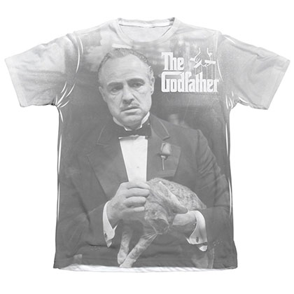 The Godfather Pet The Cat Sublimation T-Shirt