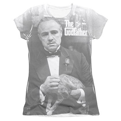 The Godfather Pet The Cat Sublimation Juniors T-Shirt