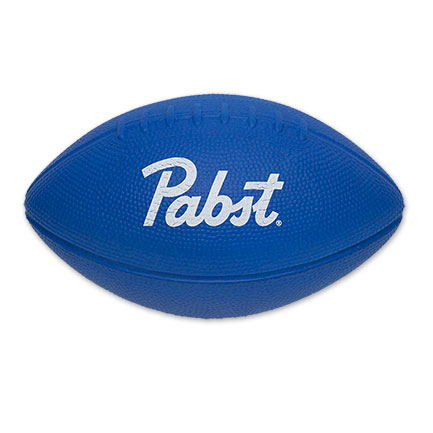 PBR Foam Pabst Logo Football