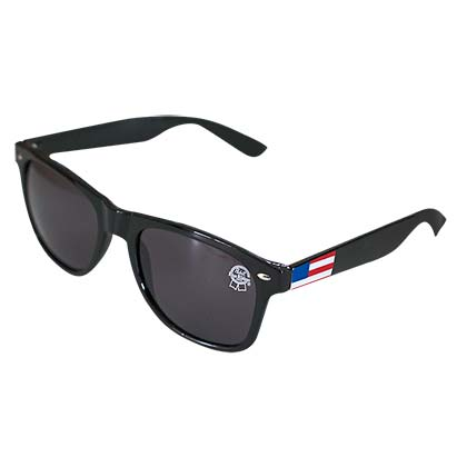 Pabst Blue Ribbon Black Wayfarer Sunglasses