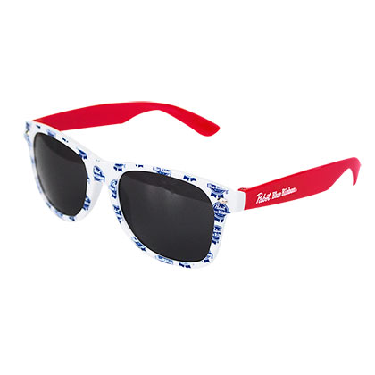 Pabst Blue Ribbon Mini Logo Sunglasses