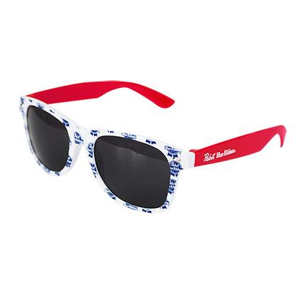 Pabst Blue Ribbon Logo Sunglasses