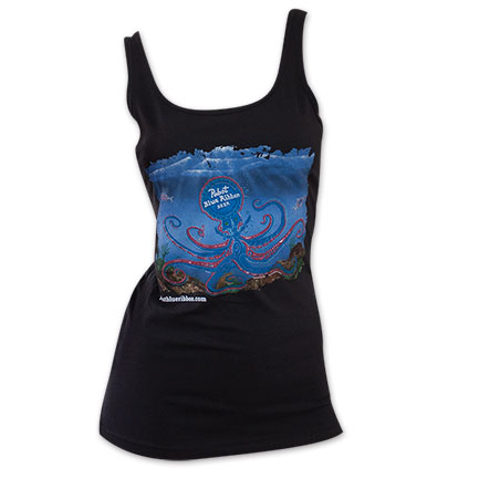 Pabst Blue Ribbon Women's Octopus Tank Top