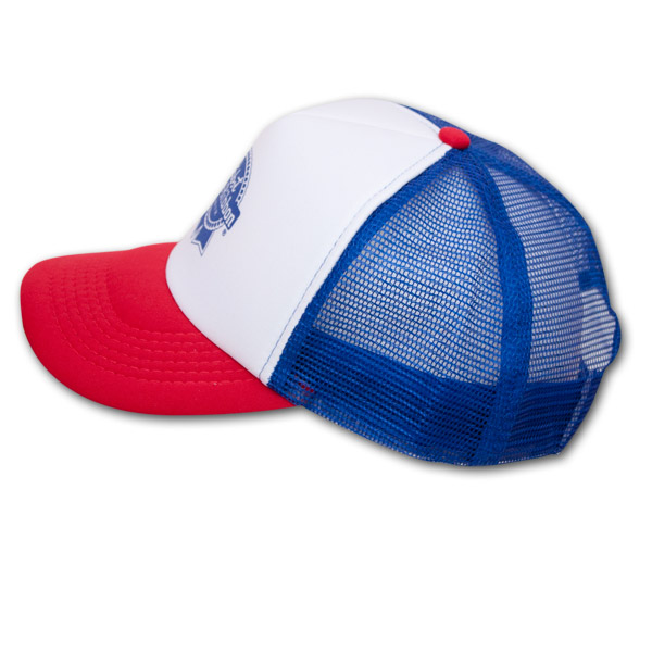 Pabst Blue Ribbon (PBR) Trucker Hat - Red 1b9228357c4