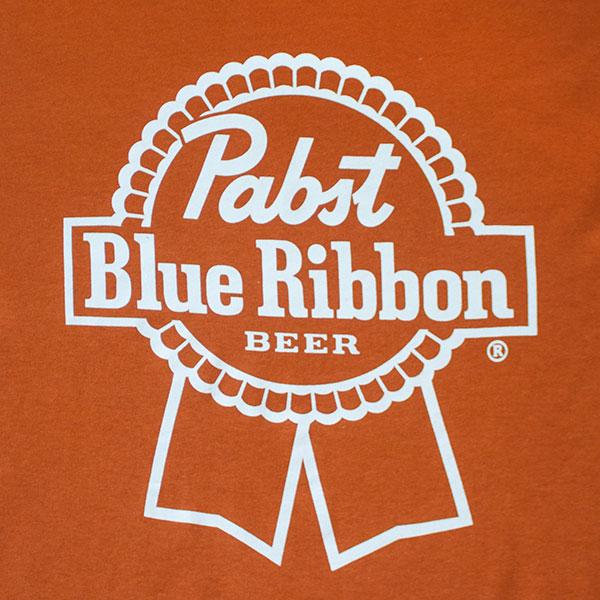 Pabst Blue Ribbon Bronze Logo T-Shirt