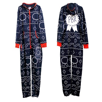PBR Holiday Onesie Sweatsuit