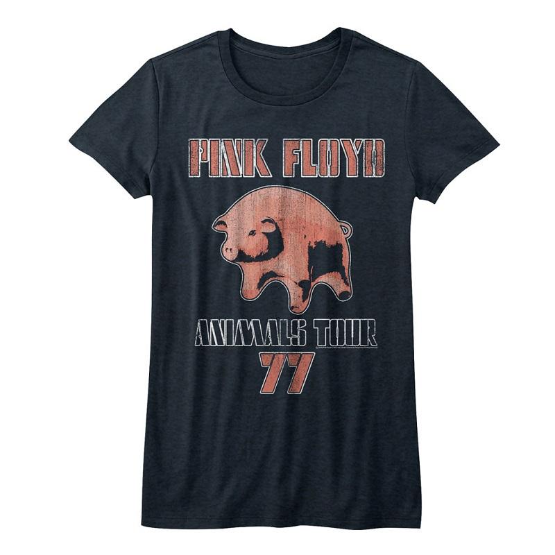 dbff581a1e1bd5 Pink Floyd Animals Tour Pig 77 Women s Tshirt