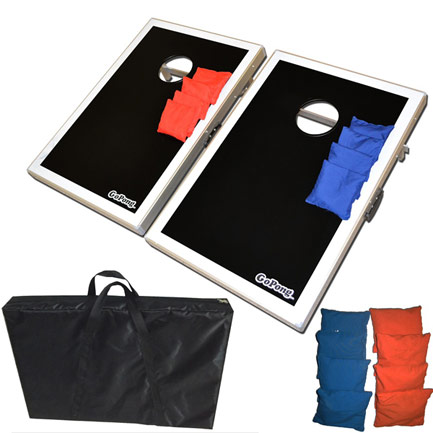 Aluminum Frame 3x2' Tailgate Bean Bag Toss Cornhole Game