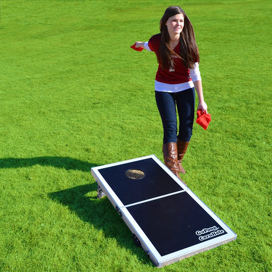 Pro Cornhole Bean Bag Toss Game Free Shipping