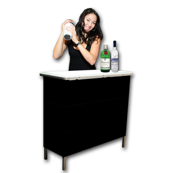 Gobar portable high top bar table free shipping watchthetrailerfo
