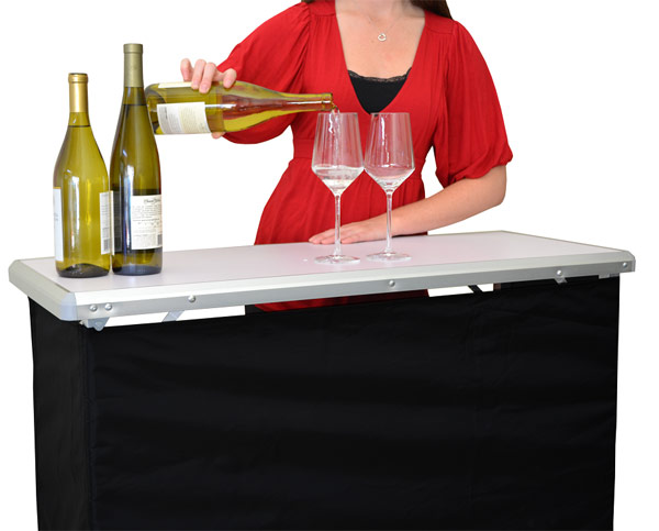 GoBar Portable High Top Bar Table - (FREE SHIPPING)