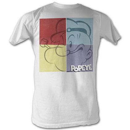 Popeye Popeye Square T-Shirt