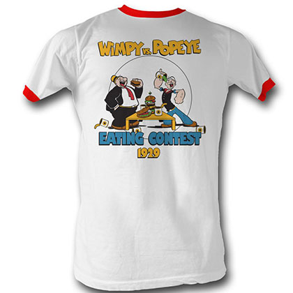 Popeye Eating Contest T-Shirt