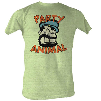 Popeye Partay Animal T-Shirt