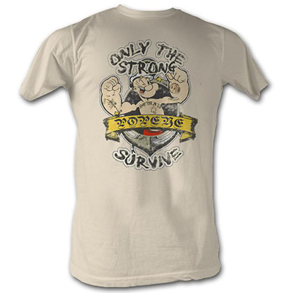 Popeye Only The Strong T-Shirt