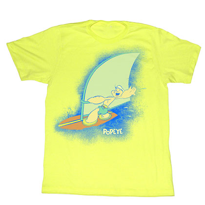 Popeye Sailin On T-Shirt