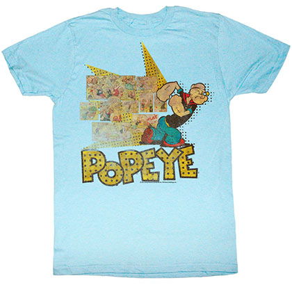 Popeye Fightin Popeye T-Shirt