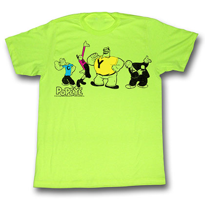 Popeye Cmyk T-Shirt
