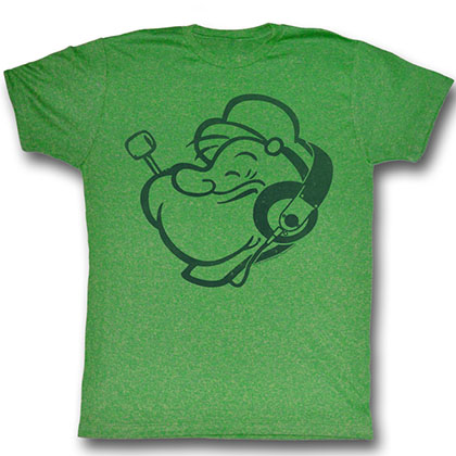 Popeye Headphones T-Shirt