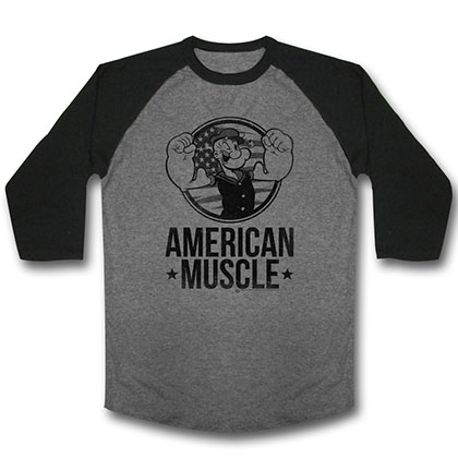 Popeye Mo Muskle T-Shirt