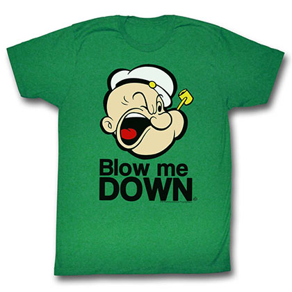 Popeye Blow Me Down T-Shirt