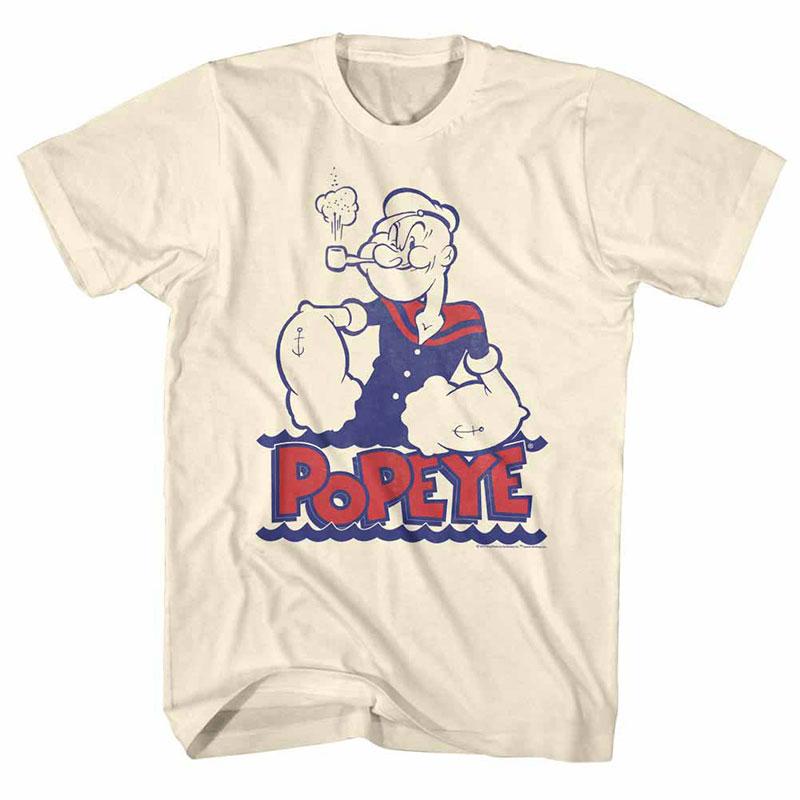 Popeye Wah Off White TShirt