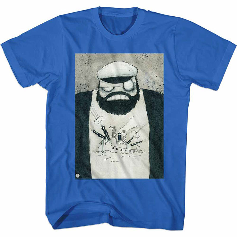 Popeye Crazy Brut Blue TShirt