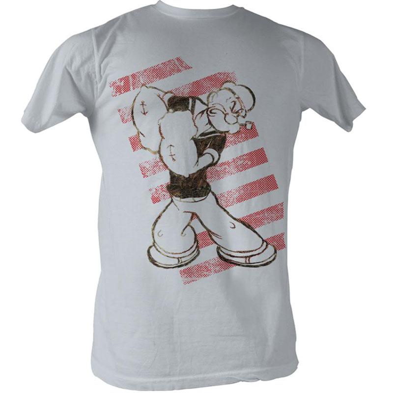 Popeye Popeye Stripes T-Shirt