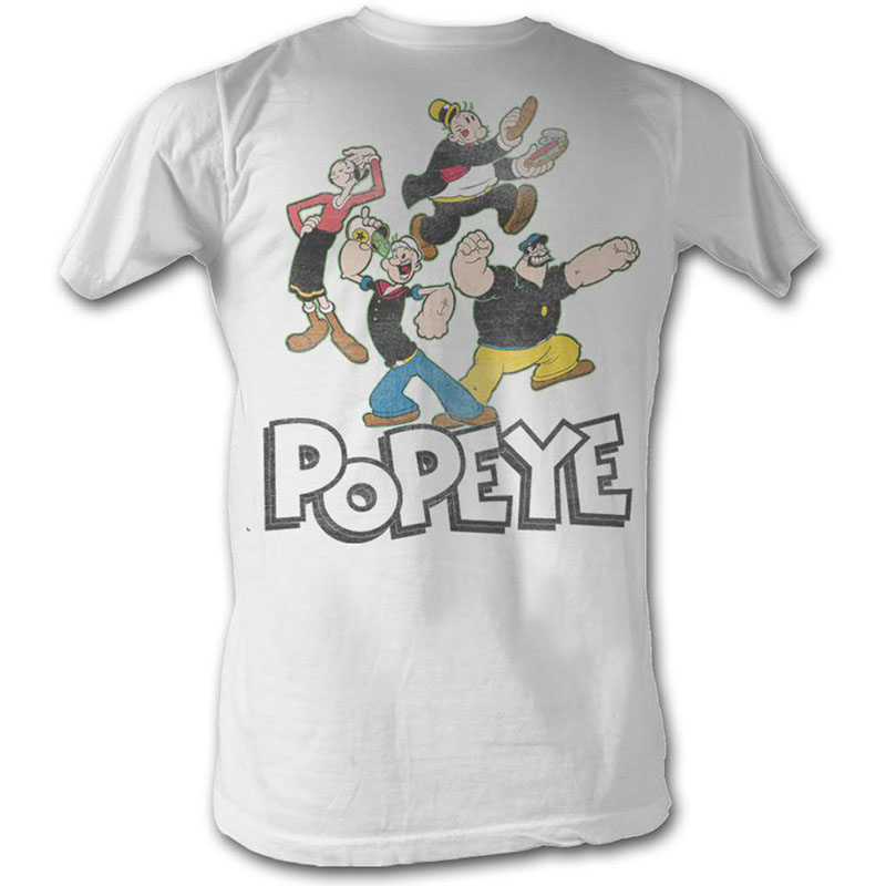 popeye pop group t shirt. Black Bedroom Furniture Sets. Home Design Ideas
