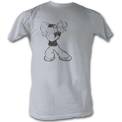 Popeye Popeye Washed T-Shirt
