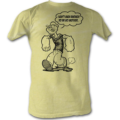 Popeye Man Enough T-Shirt
