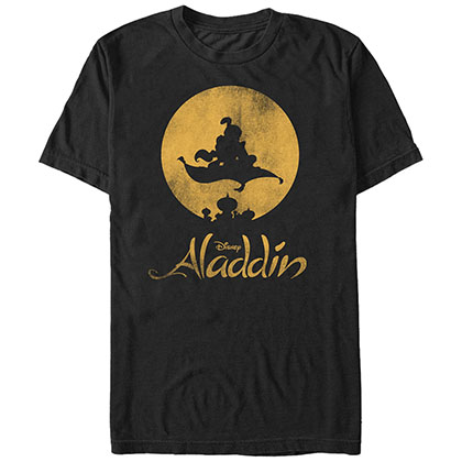 Disney Aladdin New World Black T-Shirt