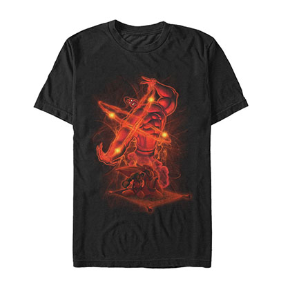 Disney Aladdin Absolute Power Black T-Shirt
