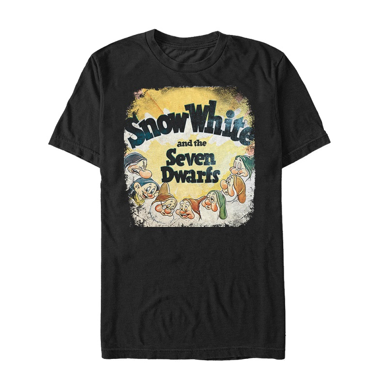 Snow White and the Seven Dwarfes Vintage Tshirt