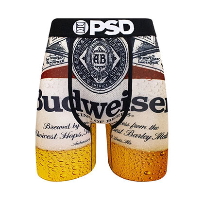 Budweiser Bottle Label Boxer Briefs