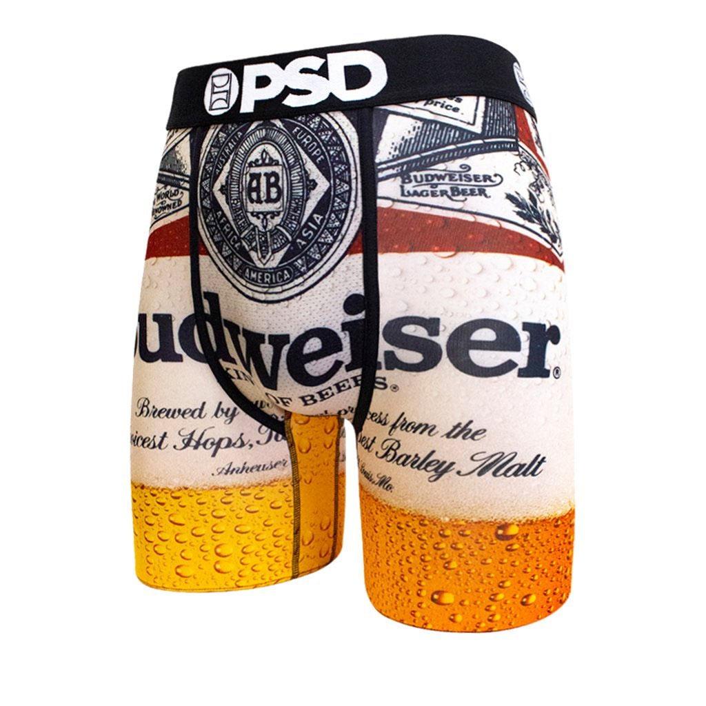 eb3dfbc70304d Budweiser Label Men's Boxer Briefs