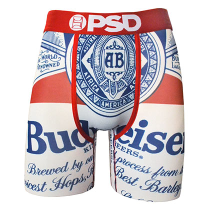 Budweiser Label Men's Boxer Briefs