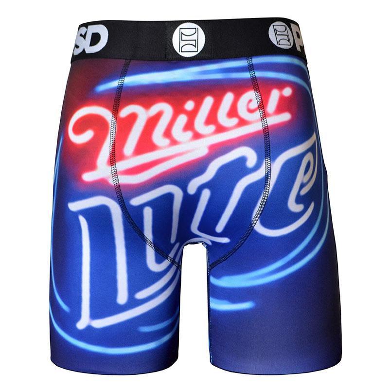 Miller Lite Neon Men's Boxer Briefs
