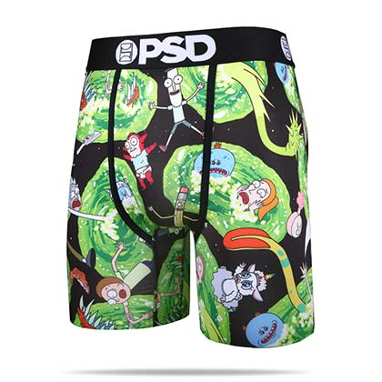 Rick And Morty Portals Men's Boxer Briefs